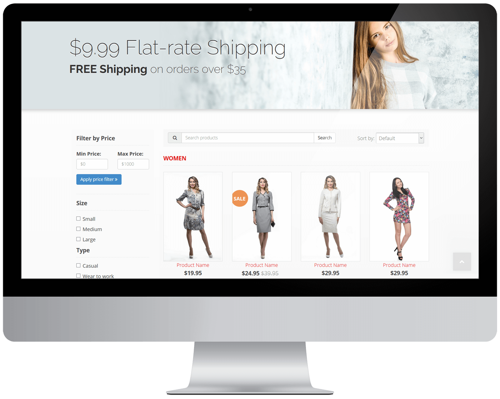 E-Commerce Website Features